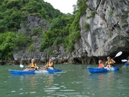 Day trip to Ha Long bay